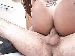 Curvaceous Tranny Enjoys Anal Massage 3